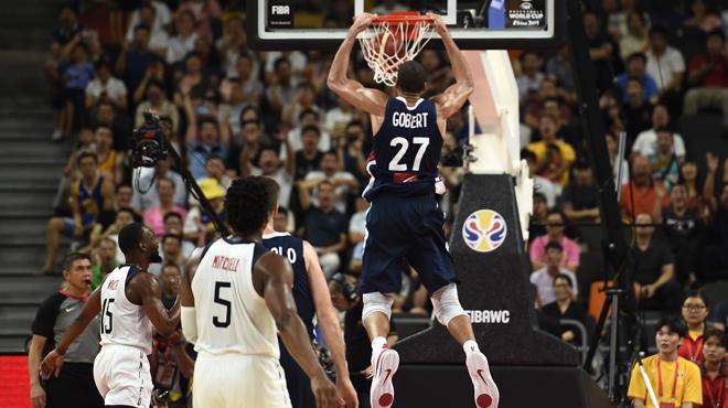 La France crée l'exploit et élimine les Etats-Unis au Mondial de basket