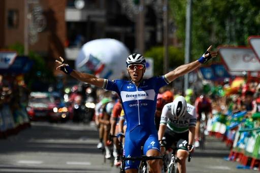 Tour d'Espagne: Gilbert remporte la 17e étape, Roglic toujours leader