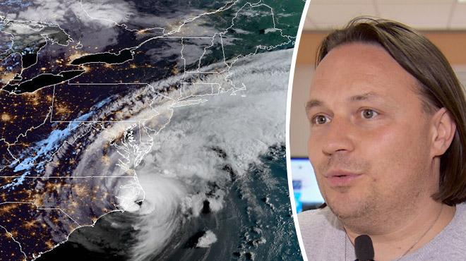 L'ouragan Dorian est responsable du temps MAUSSADE chez nous: c'est l'effet PAPILLON