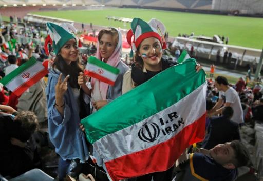 Femmes dans les stades: une délégation de la Fifa en Iran