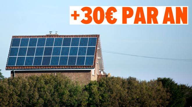 La taxe sur les détenteurs de panneaux photovoltaïques à nouveau reportée: ceux qui n'en ont pas vont avoir une MAUVAISE surprise