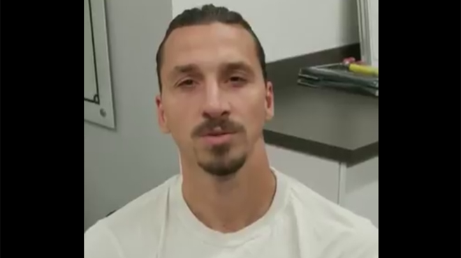 Le message fort de Zlatan Ibrahimovic à Vincent Kompany: