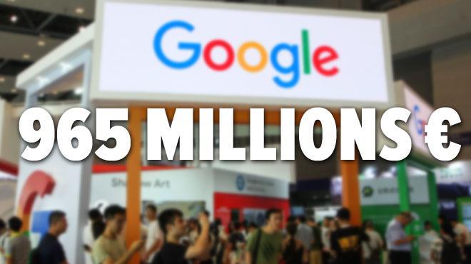 Google va payer une somme colossale pour régler ses problèmes fiscaux avec la France