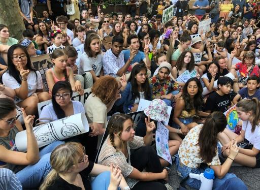 Manifestations pour le climat: New York encourage ses élèves à participer
