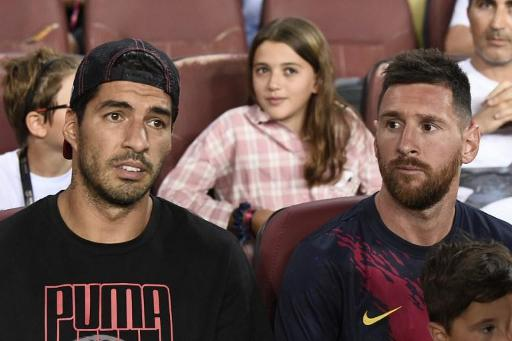Ligue des Champions - Suarez rétabli, Messi probable forfait à Dortmund, Umtiti, 5 à 6 semaines d'absence
