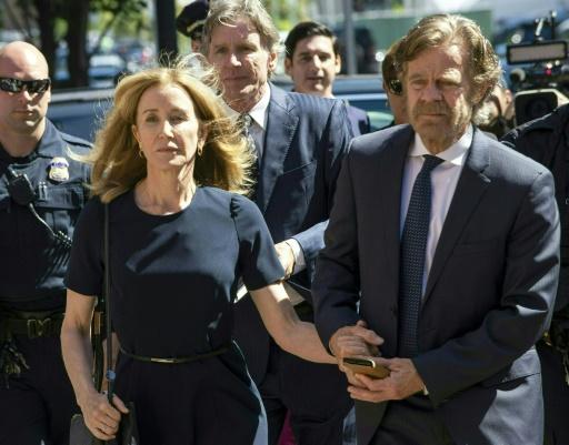Corruption pour entrer à l'université: 2 semaines de prison pour l'actrice Felicity Huffman