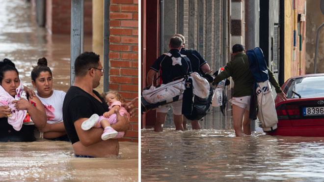 Des pluies torrentielles s'abattent sur le sud-est de l'Espagne et font au moins 5 morts en deux jours