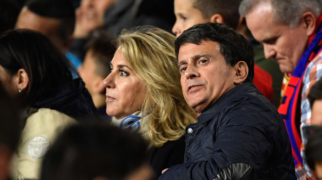 L'ex-premier ministre français Manuel Valls s'est marié avec sa compagne espagnole