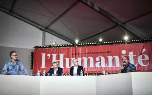 Retraites: débat électrique entre Delevoye et Martinez à la Fête de l'Humanité