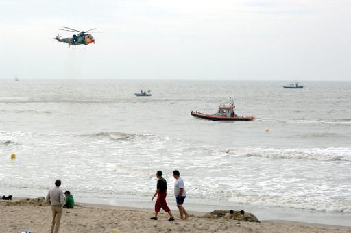 Importante opération de recherche à la Côte après la disparition de deux plongeurs