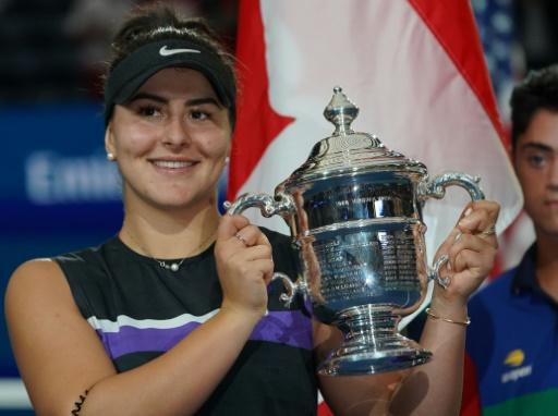 Tennis: la championne de l'US Open Bianca Andreescu célébrée dans sa ville natale