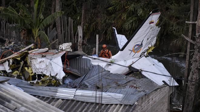 Un avion s'écrase en Colombie peu après le décollage: 7 personnes tuées et 3 autres blessées