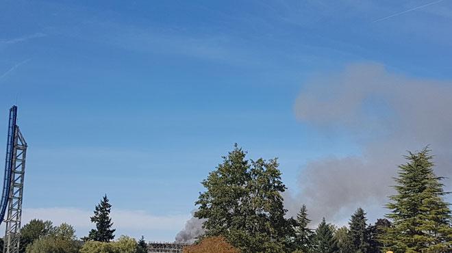 Important incendie de ferme à Bierges: la thèse accidentelle confirmée par le parquet