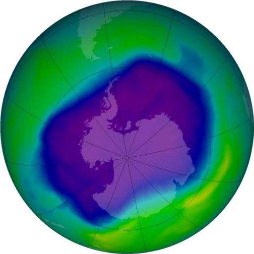 Le trou dans la couche d'ozone pourrait être cette année l'un des plus petits en 30 ans