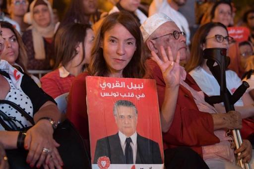 Présidentielle en Tunisie : nouvelle demande de libération du candidat à la présidentielle Nabil Karoui
