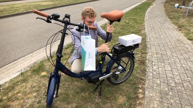 Des vélos électriques gratuits pour les travailleurs du zoning de Nivelles
