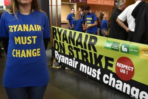 Ryanair: une journée d'action de