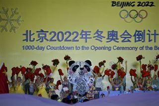 JO-2022- la Chine choisit un panda comme mascotte