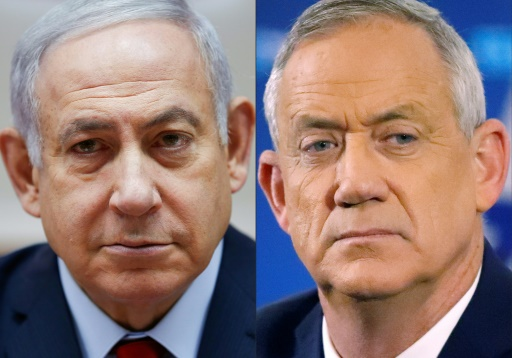 Israël: Netanyahu et Gantz au coude-à-coude (sondages à la sortie des urnes)