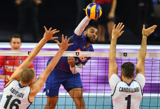 Euro de volley: succès de prestige des Français contre l'Italie pour conclure le 1er tour