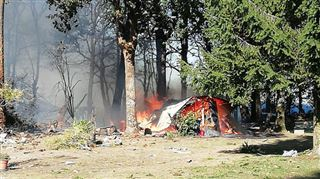 Un F-16 belge s'écrase en France- les deux pilotes sont blessés, huit maisons évacuées (vidéo) 2