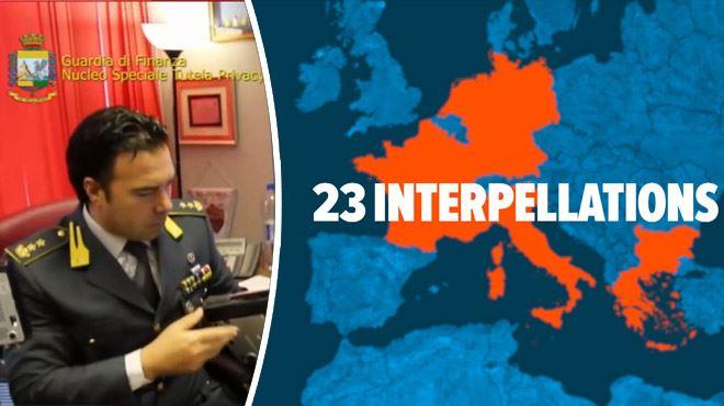 Une vaste plateforme de télé pirate (IPTV) démantelée en Europe 1