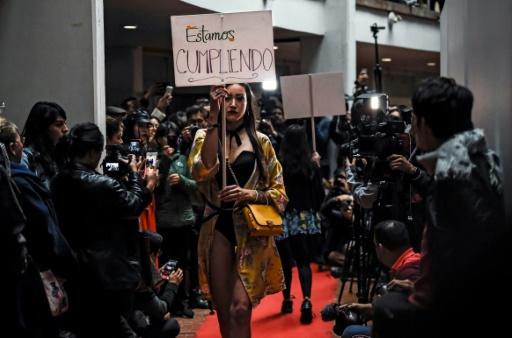 Colombie : d'ex-guérilleros à créateurs de mode, un pari sur la paix