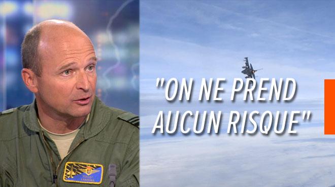 Crash d'un F-16 en France: le général Frederik Vansina rassure sur l'état de santé de nos avions