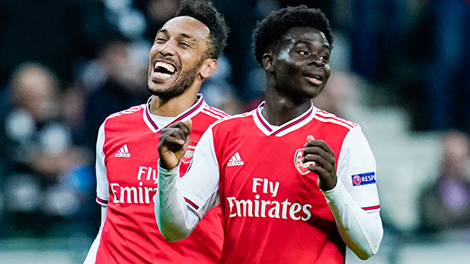 Europa League: Arsenal balaye l'Eintracht Francfort et attend le Standard