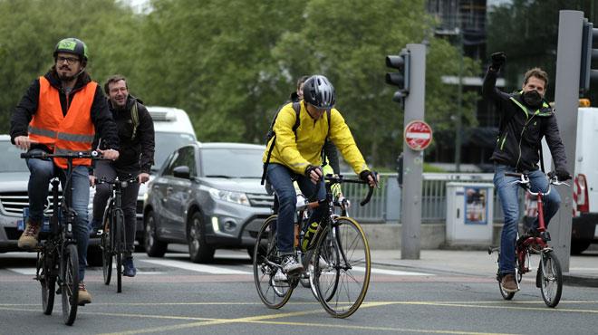5 fois plus de cyclistes en Wallonie en 2030: le gouvernement veut favoriser le déplacement à vélo jusqu'au travail