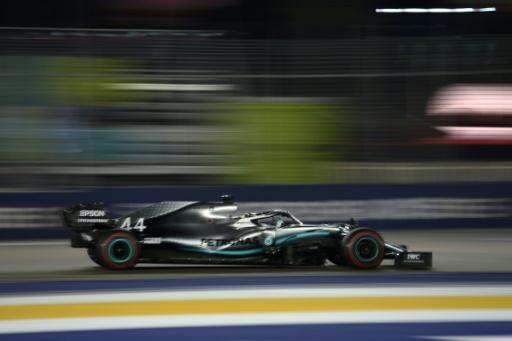 GP de F1 de Singapour: Hamilton et Verstappen tiennent leur rang