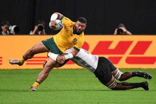 Mondial de rugby: victoire bonifiée mais compliquée de l'Australie face aux Fidji