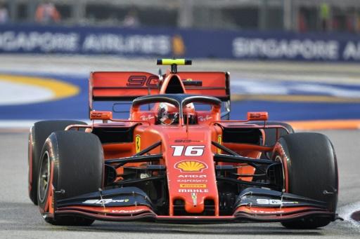 GP de F1 de Singapour: Leclerc surprend en essais libres 3