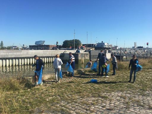 World Cleanup Day: 60 tonnes de déchets retirés des cours d'eau belges