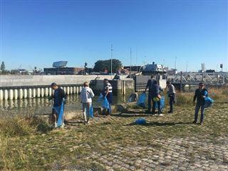 World Cleanup Day- 60 tonnes de déchets retirés des cours d'eau belges