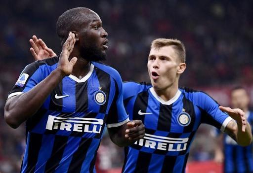 Les Belges à l'étranger - Un premier derby milanais réussi pour Romelu Lukaku, buteur et vainqueur avec l'Inter