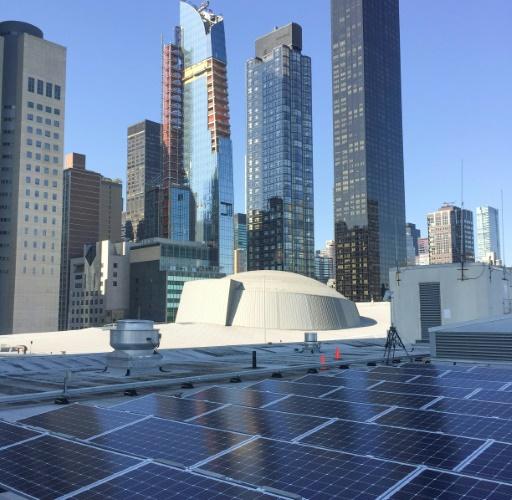 Les dirigeants du monde éclairés à l'ONU par 193 panneaux solaires