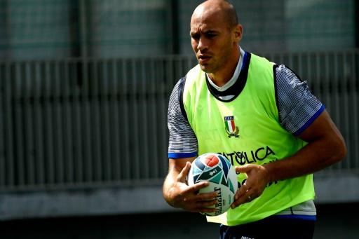 Mondial de rugby: lors d'Italie-Namibie, Parisse comptera jusqu'à 5