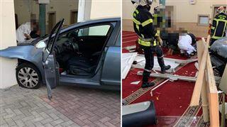 Un homme fonce délibérément en voiture sur une mosquée en France sans faire de victime 4