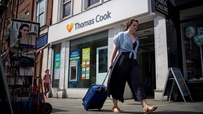Journée CRUCIALE pour Thomas Cook au bord de la faillite: le voyagiste britannique doit trouver 227 millions d'euros