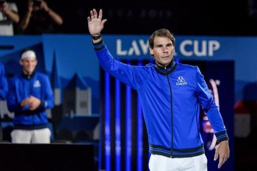 Rafael Nadal se retire de la Laver Cup en raison d'une blessure au poignet