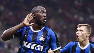 Romelu Lukaku offre la victoire à l'Inter Milan dans le derby milanais (vidéo) 5
