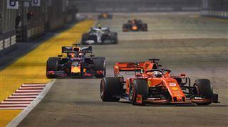 F1- Vettel s'offre sa première victoire au GP de Singapour, doublé Ferrari! 3