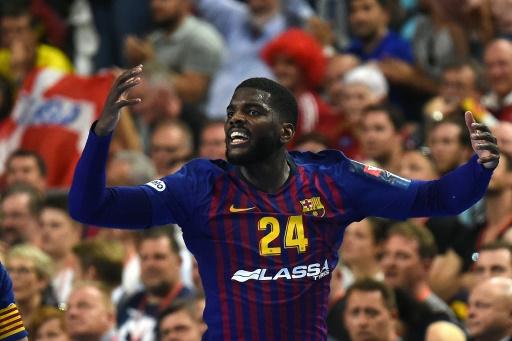 Hand: cris racistes contre le Français Dika Mem lors de Barça-Celje