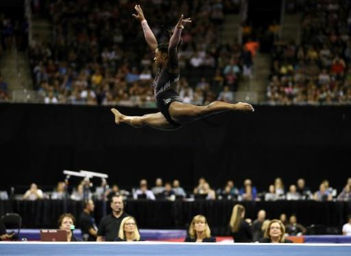 Gymnastique: Biles assure sa participation aux Mondiaux de Stuttgart