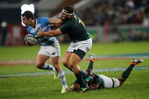 Mondial de rugby: à peine arrivé à Toulouse, Thomas du Toit rappelé par les Springboks