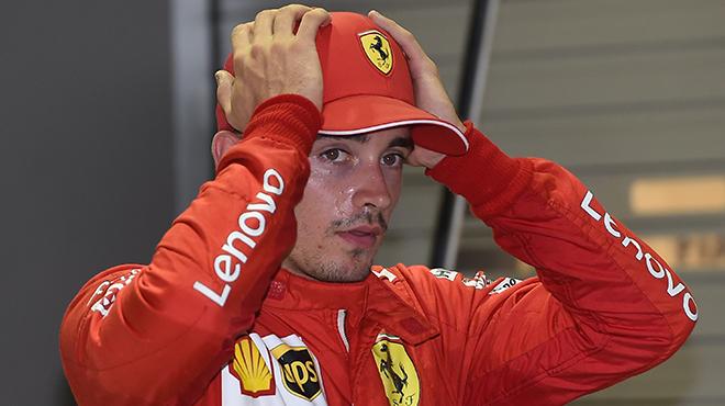 Charles Leclerc fâché contre son équipe après le GP de Singapour :