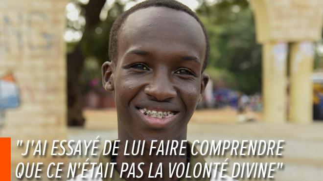Au Sénégal, Yoro Sarr, un étudiant de 18 ans, paie d'une mâchoire fracturée son combat pour le climat