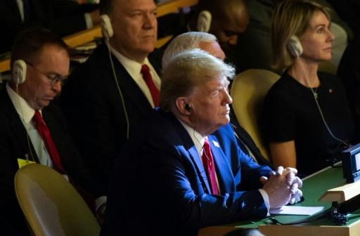 Menace de destitution: Trump assure qu'il n'est pas inquiet