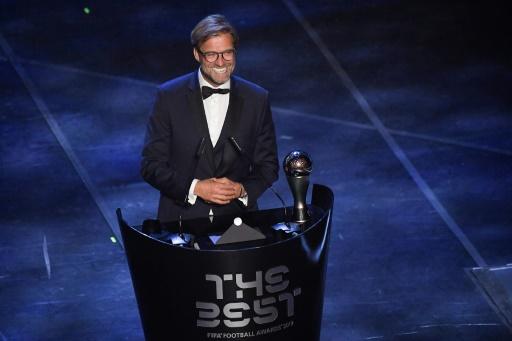 Prix FIFA The Best: Jürgen Klopp entraîneur de l'année.